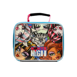 Mattel Monster High Deluxe Brand New Classic Designed Multicolored Exclusive Kids Eye Catching Ultra-Cool Insulated Lead Safe PVC Free Lunch Bag