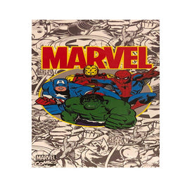 Marvel Comics Beach Towel - 28 x 58 Inch Cotton Bath Towel for Kids