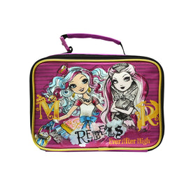 Mattel Ever After High Rebels Deluxe Brand New Multicolored Ultra-Cool Insulated BAC OFF Technology Lead Safe PVC Free Antibacterial Kids Super Cute Lunch Bag