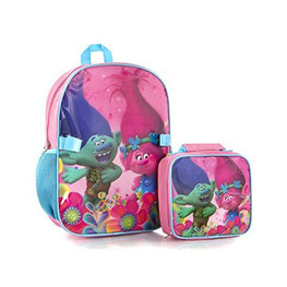 Trolls Econo Backpack with Lunch Bag Kit for Girls' - 15 Inch