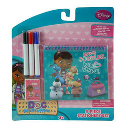 Disney Doc Mcstuffins Personalized 5pc Stationery Set for Kids