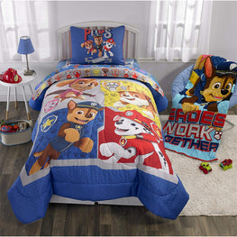 Franco Manufacturing Paw Patrol Gangs All Here Kids 2 PC Kids Bedding Twin/Full Comforter with Sham #371272615