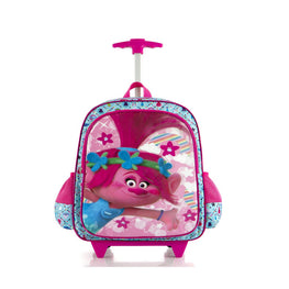 DreamWorks Core Kids Rolling Backpack with Shoulder Strap - 18 Inch [Trolls]