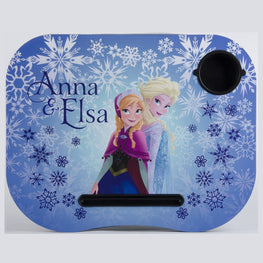 Disney Frozen Elsa Anna Lap Desk Built in Cup Holder Official Licensed