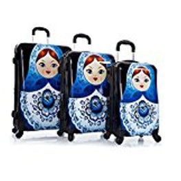 """Russian Dolls"" 3-Piece Spinner Luggage Set"
