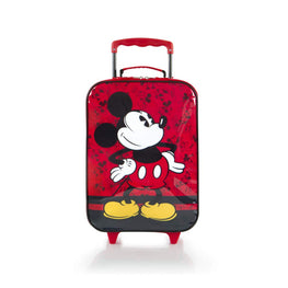 Disney Mickey Mouse Soft-side Trolley Kids Luggage Case 16 Inch