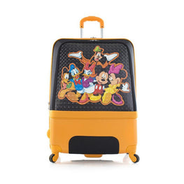 Heys Disney Clubhouse 30 Inch Hybrid Carry on Spinner Luggage for Kids [Mickey & Friends]