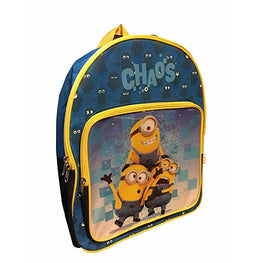Me Minions Bag Despicable for Kids New School Backpack - 15 Inch [Chaos]