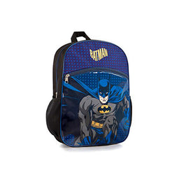 Batman Warner Bros Econo Backpack- Boy's School Bag 15 Inch
