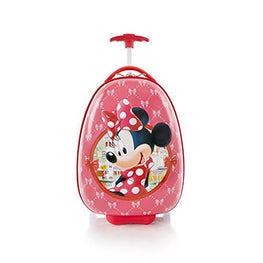 "Disney Minnie Mouse Kids Deluxe 18"" Luggage Carry on Approved"