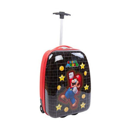 Super Mario Brothers Kids Rolling Luggage