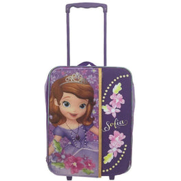 Disney 16 inch Kids Rolling Pilot Case with Organizer, Sofia