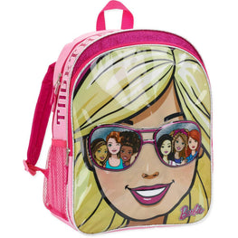 Barbie Star Shine Kids School Backpack for Girls 16 Inch
