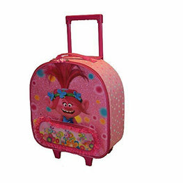 DreamWorks Trolls Softside Rolling Luggage for Kids