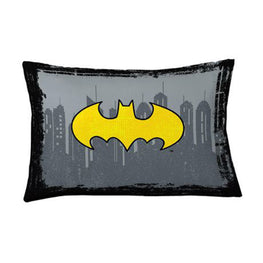 Batman Pillowcase Center of Shadows Pillowcase Reversible Pillowcase for Kids - 20 X 30 Inch (1 Piece Pillow Case Only)