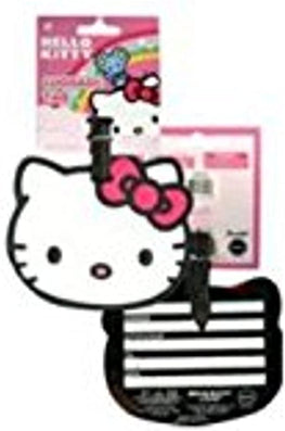 Hello Kitty PVC Head Shaped Luggage Tags