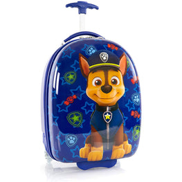 Nickelodeon Paw Patrol Hard Side wheeled Luggage for Kids - 18 Inch [Blue]