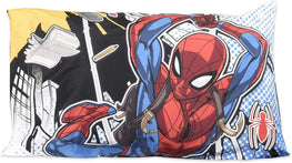 Marvel Spider-Man Kids Pillowcase Standard Size - 20 x 30 Inch [1 Piece Pillowcase Only]