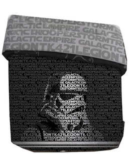 Star Wars Unisex Queen Size Comforter [Black/Grey]