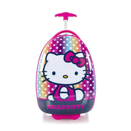 Sanrio Hello Kitty Oval Shaped Hard-side Luggage - 18 Inch