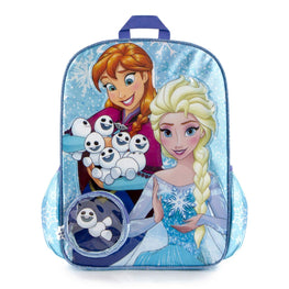 Disney Frozen Anna Elsa Kids Backpack - 15 Inch
