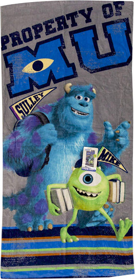 "Disney Monsters University Back to School Beach Towel - 28"" X 58"""