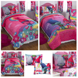 DreamWorks Trolls Complete Girls Comforter Set - Twin