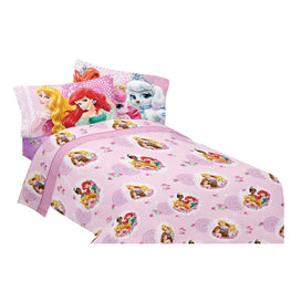 Disney Princess Palace Pets Fabulous Friends Twin Sheet Set 3 Piece