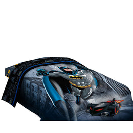 Batman Guardian Speed Twin/Full Reversible Comforter-[Dark Blue]