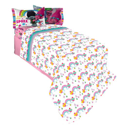 Trolls Show Me A Smile Twin Sheet Set 3-Piece