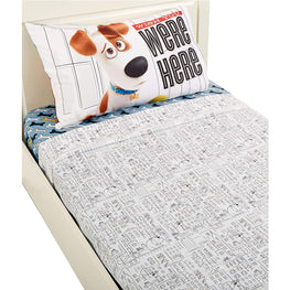 Universal Secret Life of Pets Wish You were Here Twin Sheet Set - 3 pcs for kids