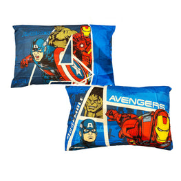 Marvel Avengers Assemble Reversible Pillowcase for Kids - 20 X 30 Inch (1 Piece Pillow Case Only)