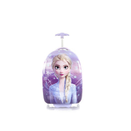 Disney Frozen II Kids Hard Side wheeled Luggage - 18 Inch [Purple]