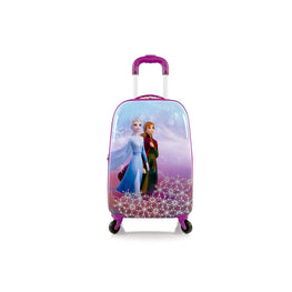 Disney Frozen II Anna Elsa Hardside Tween Spinner Luggage for Kids - 20 Inch