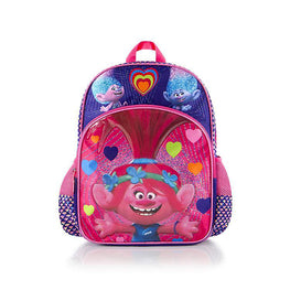 DreamWorks Trolls Classic Designed Kids Glittering Pink Backpack 16 Inch