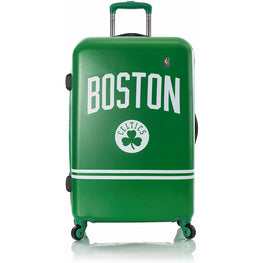 Boston Celtics National Basketball Association Carry-On Spinner Luggage