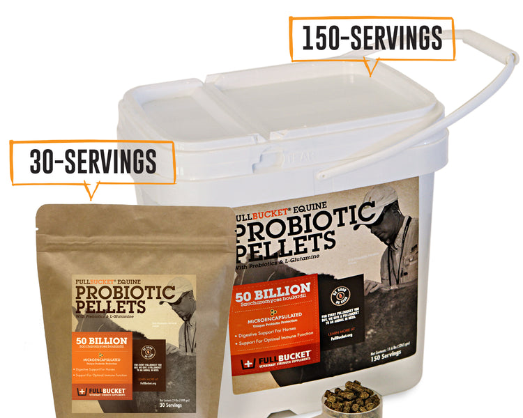 FullBucket Probiotic Pellets Info