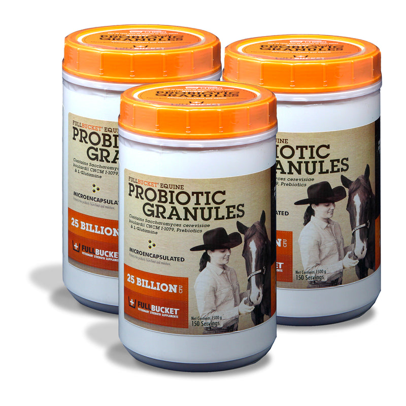 Equine Probiotic Granules (25-billion/serving)