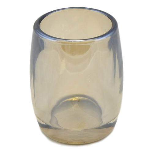Angus Glass Bathroom Tumbler | Champagne Collection - Nature Home Decor