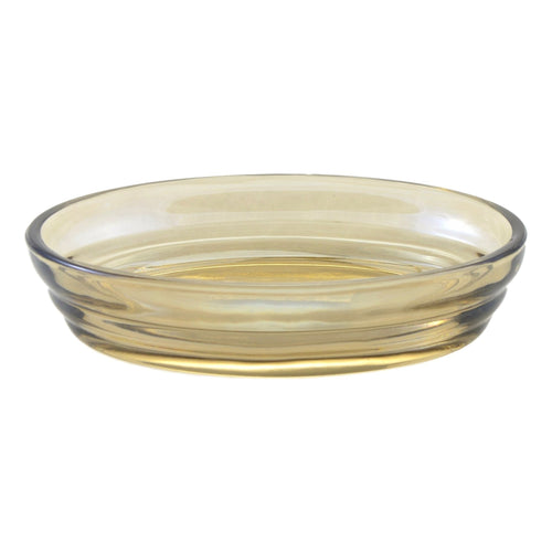 Angus Glass Soap Dish of Champagne Collection - Nature Home Decor