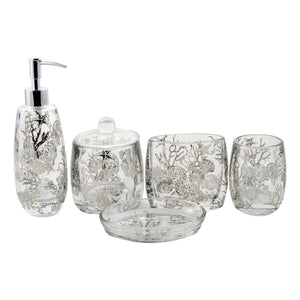 Angus Glass Soap Dispenser of Antlers Collection - Nature Home Decor