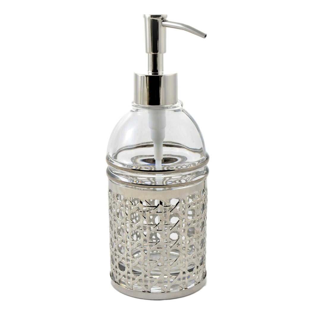 Angus Glass Soap Lotion Dispenser of Ornamental Collection - Nature Home Decor