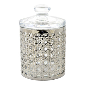 Bathroom Glass Canister of Ornamental Collection - Nature Home Decor