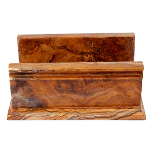 Bathroom Paper Hand Towel Holder of Multi Brown Onyx - Nature Home Decor