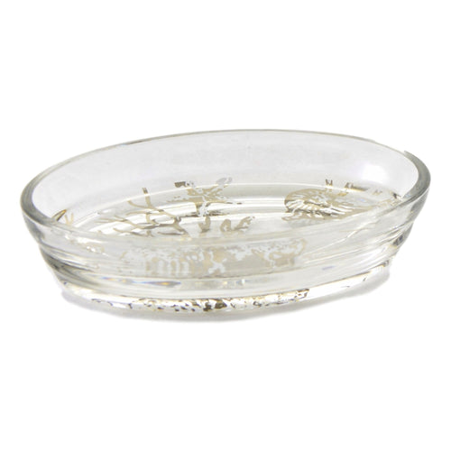 Beautiful Angus Glass Soap Dish of Antlers Collection - Nature Home Decor