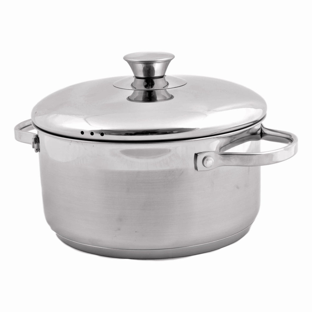 Best Stock Pot | Stainless Steel 6 Quart Classic Stock Pot - Nature Home Decor