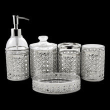 Load image into Gallery viewer, Complete Bathroom Sets | Glass 5-Piece Bathroom Set - Nature Home Decor