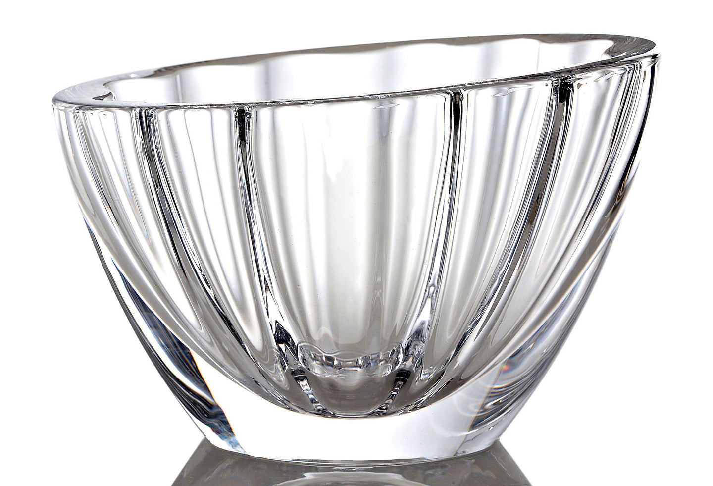 Decorative Heavy Crystal Milani 9-inch Bowl - Nature Home Decor