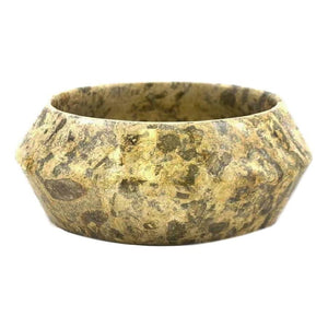 Fossil Stone 8-inches Fruit Bowl - Nature Home Decor