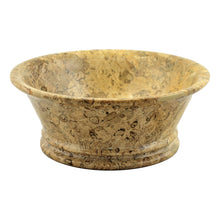 Load image into Gallery viewer, Fossil Stone 8.5-inch Modern Fruit Bowl - Nature Home Decor
